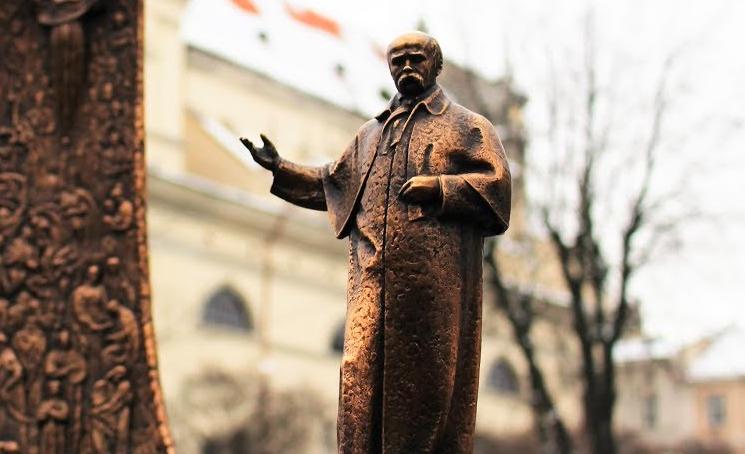 Пам'ятник Тарасу Шевченкові просп. Свободи