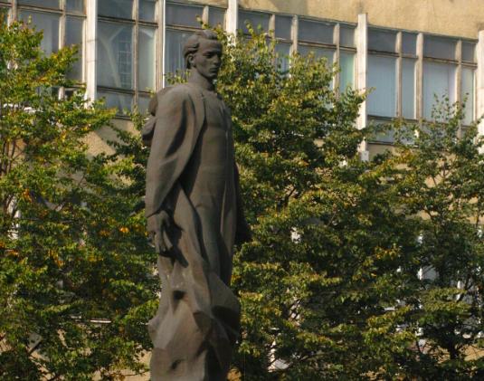 Пам'ятник Маркіяну Шашкевичу вул. М. Коперника