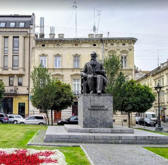Пам'ятник Михайлові Грушевському